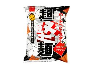 おやつカンパニー ハードベビースター超堅麺 スパイシーチキン味 袋90g
