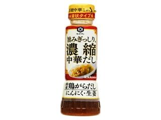 キッコーマン 濃縮中華だし 鶏がらだし にんにく生姜 ボトル200g