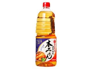 キッコーマン 万上 濃厚熟成本みりん ボトル1.8L