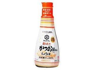 キッコーマン いつでも新鮮 削りたて かつお節香るしょうゆ ボトル200ml