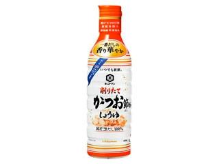 キッコーマン いつでも新鮮 削りたて かつお節香るしょうゆ ボトル450ml