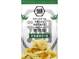 コイケヤ KOIKEYA PRIDE POTATO 本格濃厚のり塩 袋63g