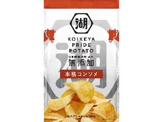 コイケヤ KOIKEYA PRIDE POTATO 本格コンソメ 袋60g