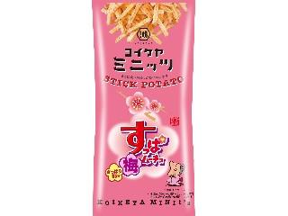 コイケヤ コイケヤミニッツ スティックすっぱムーチョ さっぱり梅味 袋40g