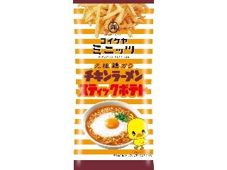 コイケヤ コイケヤミニッツ チキンラーメンスティックポテト 袋40g