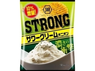 STRONG ポテトチップス サワークリームオニオン 10%増量
