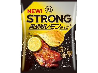 STRONG ポテトチップス 黒胡椒レモンチキン