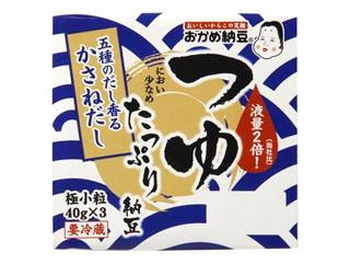 おかめ納豆 つゆたっぷり納豆 パック40g×3