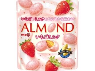 明治 アーモンドチョコレート いちごミルク 袋47g