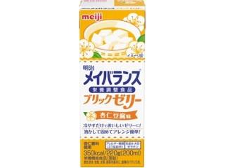明治 メイバランス ブリックゼリー 杏仁豆腐味 パック220g