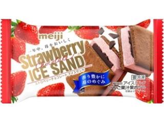 ストロベリーチョコレートアイスサンド
