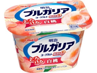 ブルガリアヨーグルト 脂肪0 とろける白桃