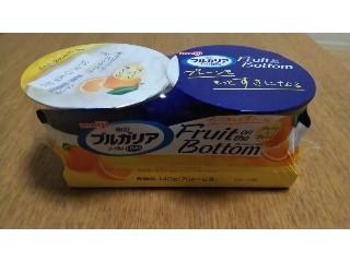 ブルガリア ヨーグルトLB81 Fruit on the Bottom プレーンとオレンジ