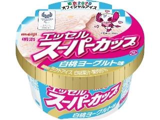 エッセルスーパーカップ 白桃ヨーグルト味