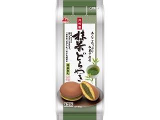 井村屋 あんこたっぷり和菓子屋の抹茶どら焼 袋3個