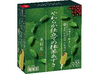 井村屋 やわらか仕立ての抹茶あずき 箱55ml×6