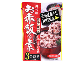 井村屋 お赤飯の素 3合炊き 袋230g