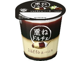 雪印メグミルク 重ねドルチェ caffe&バニラ カップ120g