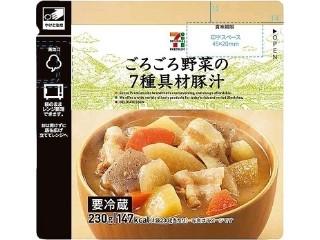 セブンプレミアム ごろごろ野菜の7種具材豚汁 袋230g