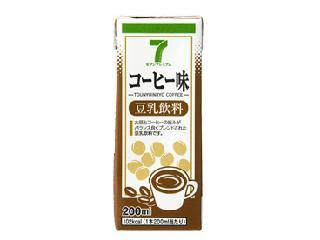 セブンプレミアム 豆乳飲料 コーヒー味 パック200ml