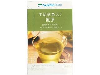ファミリーマート FamilyMart collection 宇治抹茶入り煎茶ティーバッグ