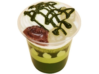 ファミリーマート 宇治抹茶のパフェ
