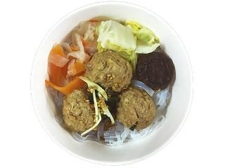 ファミリーマート 鶏と蓮根のつくね入り和風スープ