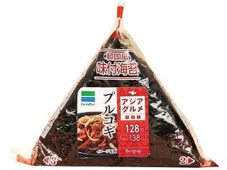 ファミリーマート 韓国風味付海苔 プルコギ