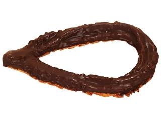 ファミリーマート 全粒粉入りザクザク食感のクッキードーナツ チョコ