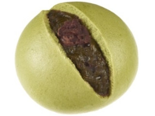 ファミリーマート もち入り抹茶つぶあんまん 鹿児島県産抹茶使用