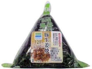 ファミリーマート 出水産海苔 豚生姜焼 鹿児島県産豚肉使用
