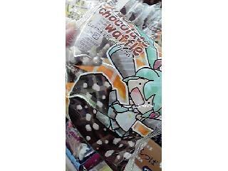 ファミリーマート シュガーチョコレートワッフル 袋1個
