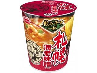 エースコック 飲み干す一杯 札幌 海老味噌ラーメン カップ72g