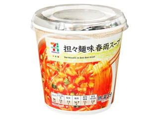 セブンプレミアム 坦々麺味春雨スープ カップ25g