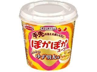 ぽかぽかスープ あんかけゆず明太味