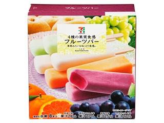 4種の果実実感フルーツバー