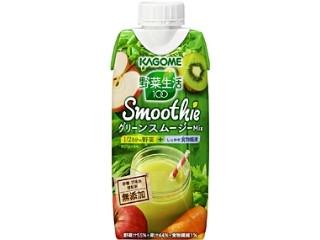 カゴメ 野菜生活100 Smoothie グリーンスムージーMix パック330ml