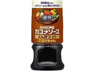 カゴメ 醸熟ソース こぶりちゃん とんかつ ボトル160ml