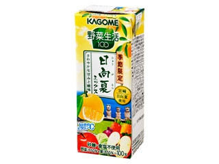 カゴメ 野菜生活 日向夏ミックス パック195ml