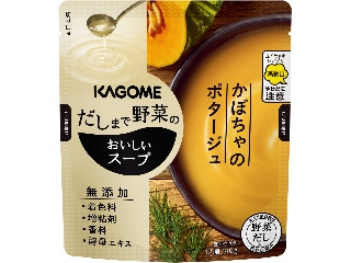 カゴメ だしまで野菜のおいしいスープ かぼちゃのポタージュ 袋140g
