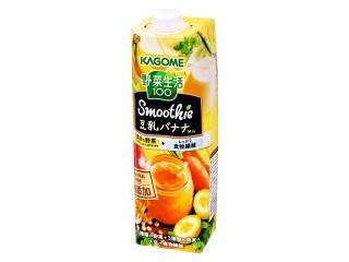 カゴメ 野菜生活100 スムージー豆乳バナナMix パック1000g