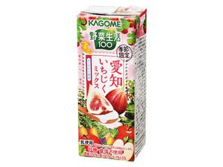 カゴメ 野菜生活100 愛知いちじくミックス パック195ml