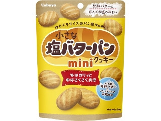 カバヤ 小さな塩バターパンクッキー ミニ 袋35g