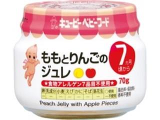 キユーピー ももとりんごのジュレ 瓶70g