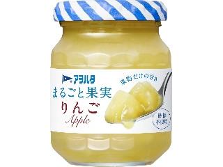 アヲハタ まるごと果実 りんご 瓶125g