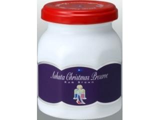 アヲハタ クリスマスプレザーブ ラムブラウン 瓶170g