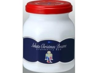 アヲハタ クリスマスプレザーブ クランベリーレッド 瓶170g