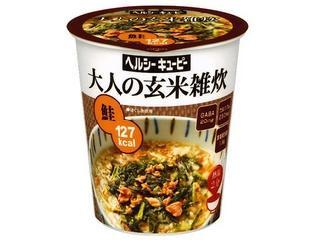 ヘルシーキユーピー 大人の玄米雑炊 鮭 カップ34.1g