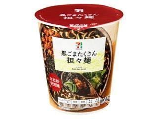 セブンプレミアム 黒ごまたくさん担々麺 カップ83g