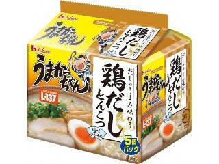 ハウス うまかっちゃん 鶏だしとんこつ 乳酸菌入り 袋80g×5